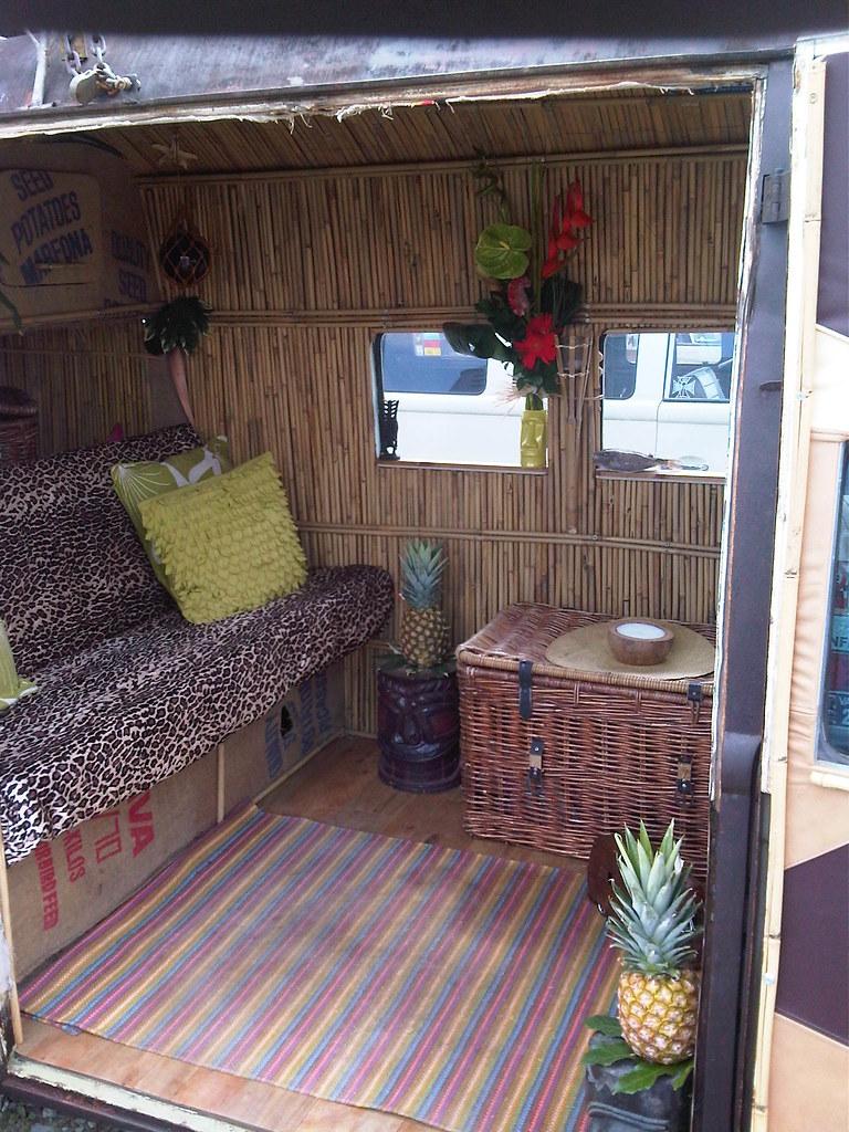 vw bus interior design  from European Bugin 2011 Chimay