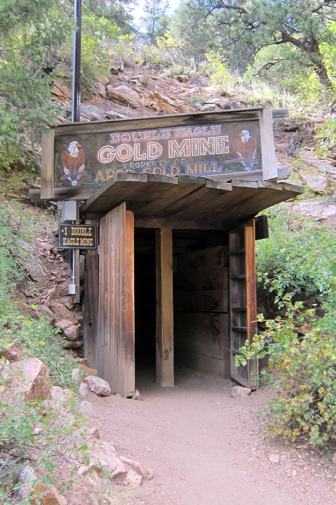 Colorado  Idaho Springs Argo Gold Mine and Mill  Double