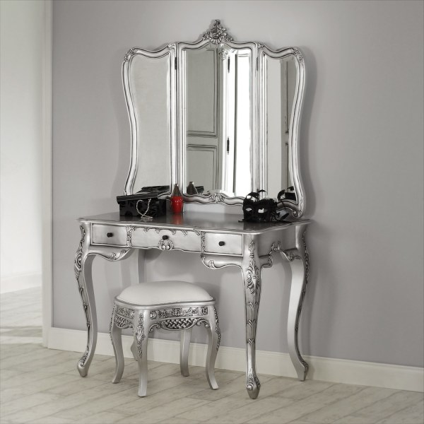 La Rochelle Silver Dressing Table Featured