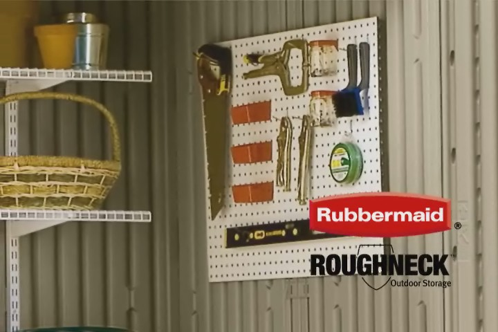 Rubbermaid Roughneck Shed Accessories  Learn how to