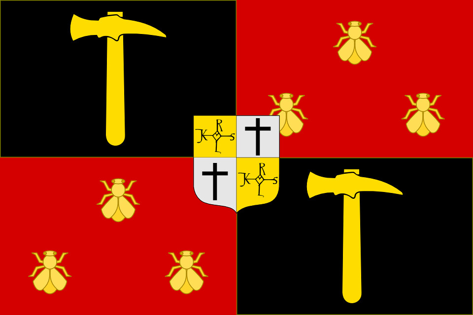Modern Banner of the Frankish Empire  Fictional modern