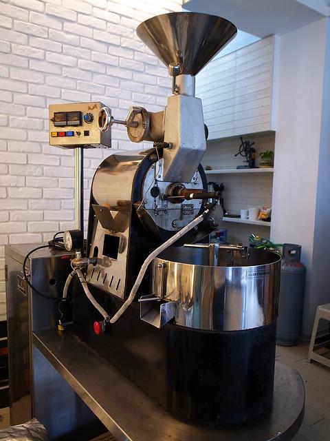 出售:(中古)楊家一公斤級營業用咖啡豆烘焙機 FS: 1kg Coffee Roaster | Flickr - Photo Sharing!