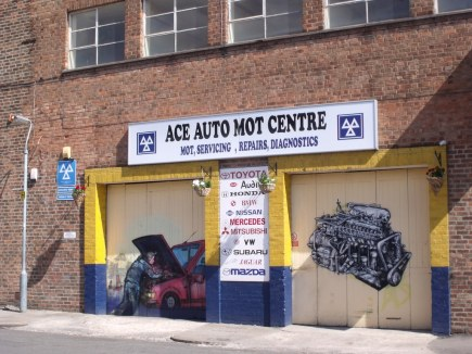 Image result for mot garage