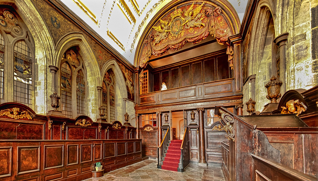 The Restored Medieval Chapel Of Petworth House Anguskirk