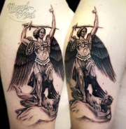 michael archangel tattoo miguel