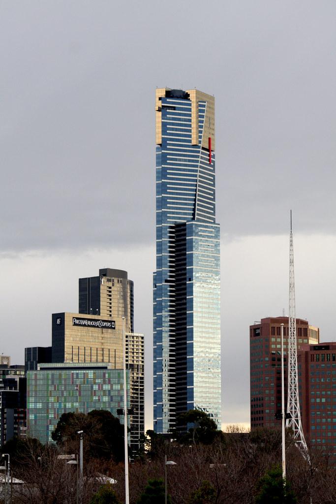 Eureka Tower Melbourne Australia  View from Swan Street   Flickr