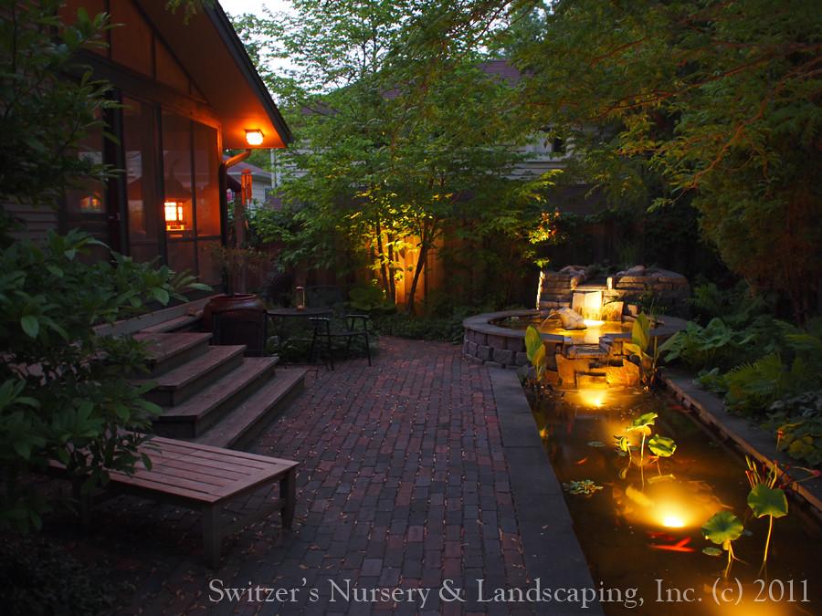Minnesota Landscape Design Inspired By Bali Natural Ston