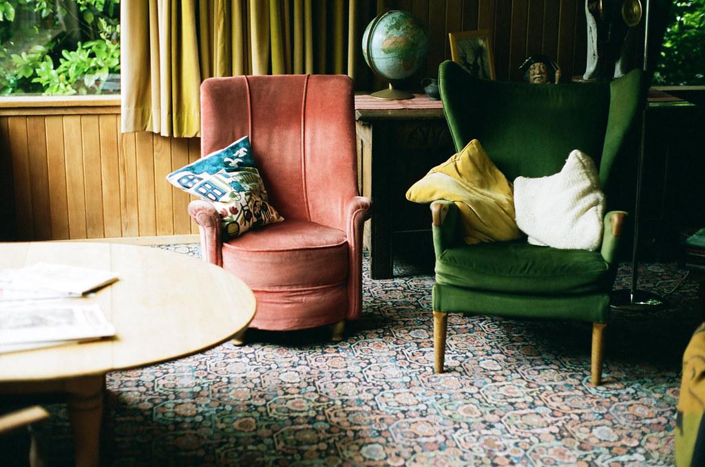 Eclectic Living Room  Annas British grandparents