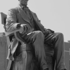 Sitting Chair Conference Room Table And Chairs Set Abraham Lincoln Statue B&w - Hodgenville, Ky | One Of The Mo… Flickr