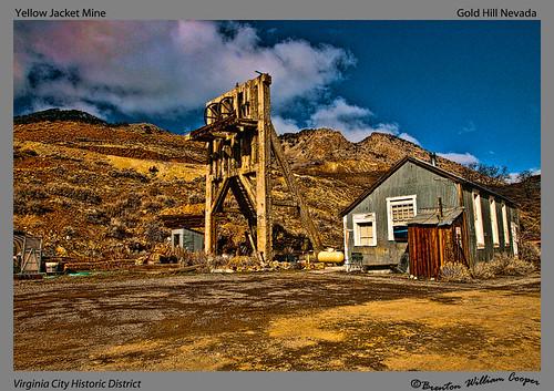 Yellow Jacket Mine  Gold Hill Nevada Virginia City Histori  Flickr