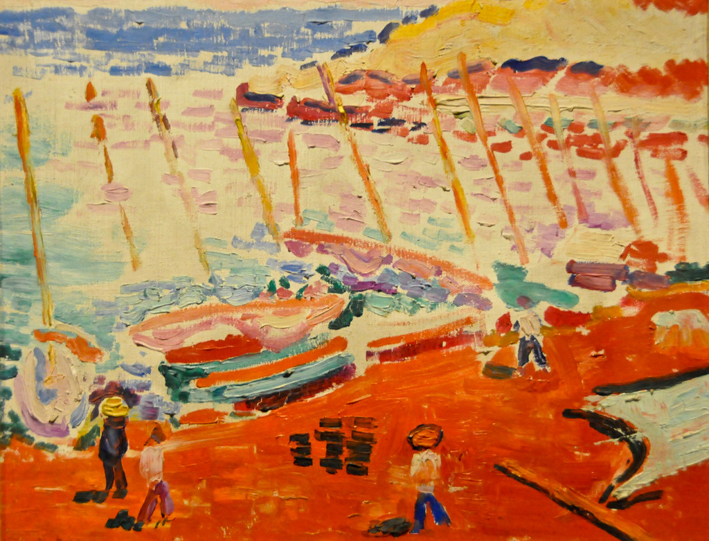 Henri Matisse The Red Beach La Plage Rouge 1905 At Th