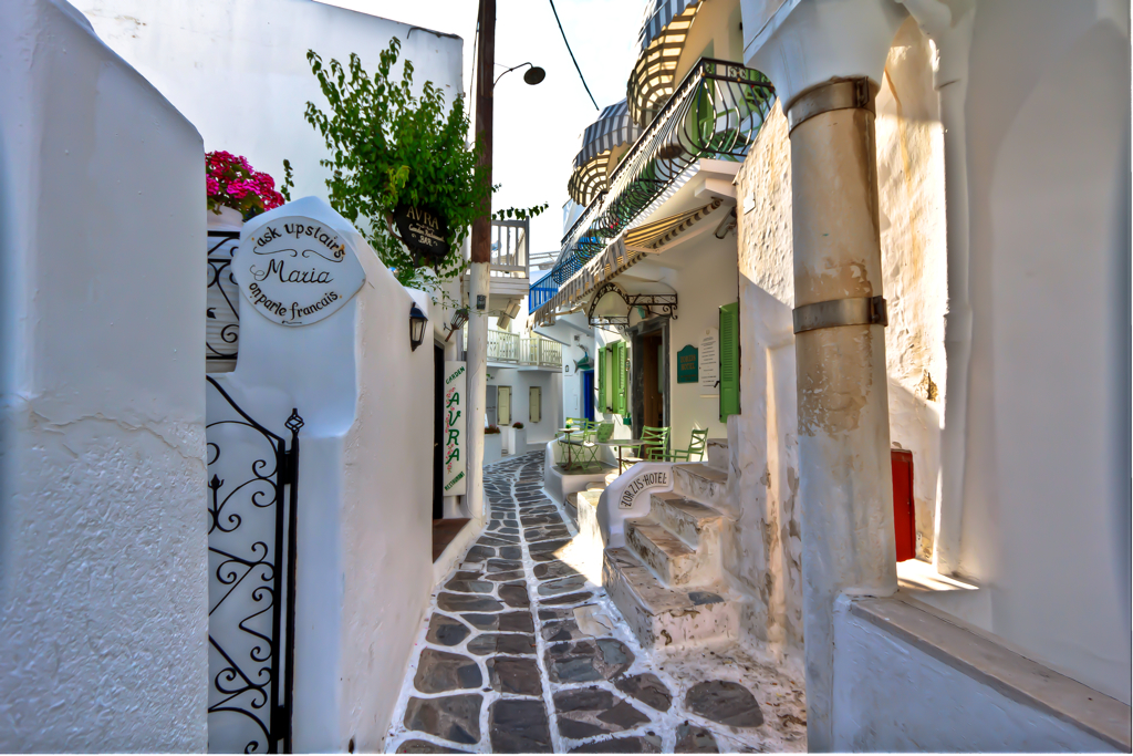Streets of Mykonos Greece  One of the best things to do