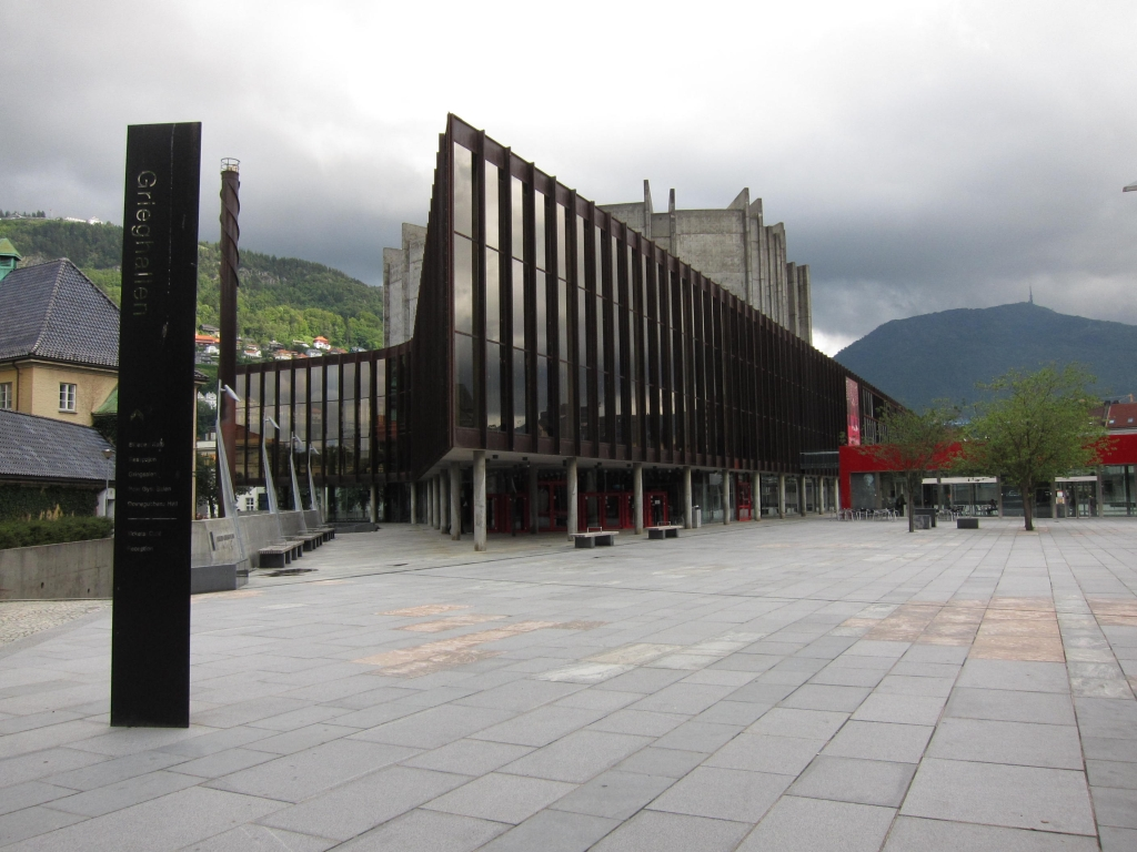 Grieghallen  The largest concert hall in Bergen Grieg