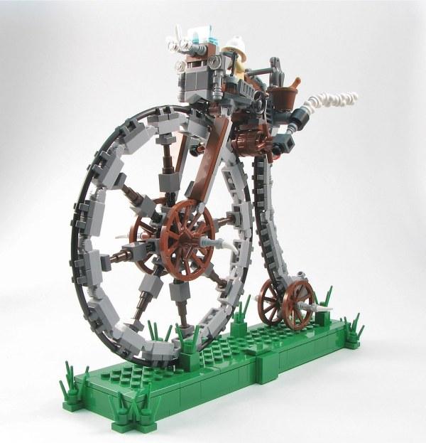LEGO Steampunk Bike