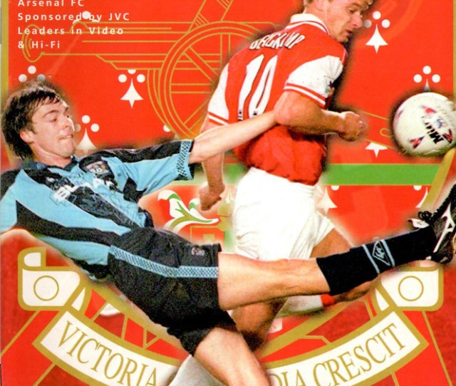Arsenal V Liverpool Fa Carling Premiership 1997 98 By Myprogs