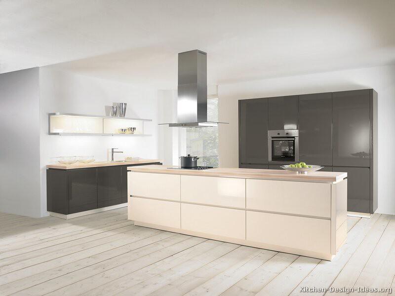 kitchen shelf designs kitchen-cabinets-modern-two-tone-155-a040a-gray-white-isla ...