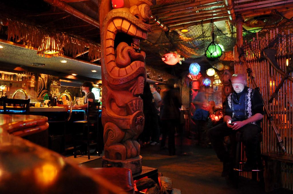 Frankies Tiki Room Bar  Charles P Everitt  Flickr
