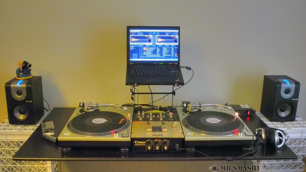 DJ Setup 112411  The home setup Ive been spending