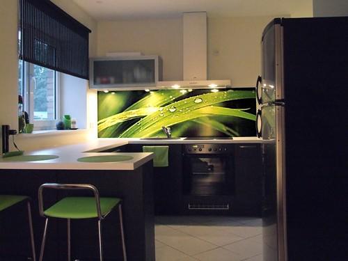 kitchen vinyl chandelier for grassblades_kitchen_splashback | splashback ...