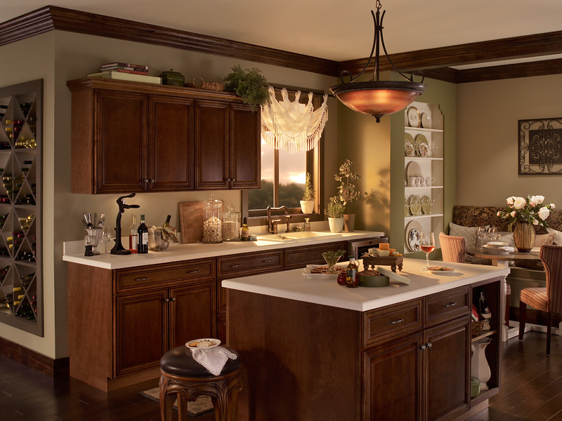 paint color for kitchen discount knobs and pulls traditional   main walls: chateau ul160-18 ceiling ...