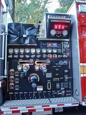 Fire Truck Pump Control Panel | Guess what? If you turn the … | Flickr