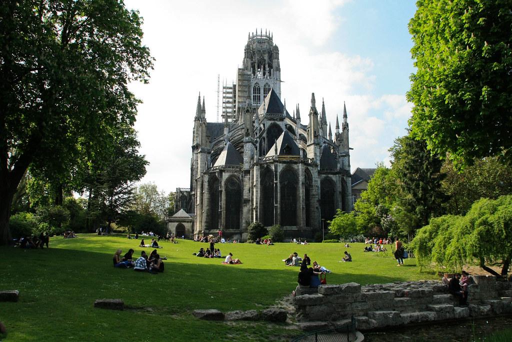 France  Normandie  Rouen  Eglise abbatiale SaintOuen