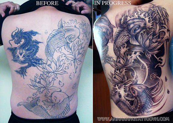 tattoo design cover full