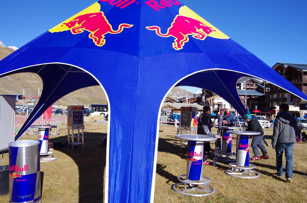 Red Bull tent  Benoit Mouren  Flickr