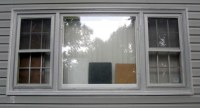 window, main room - 1 - painted - bad Home Depot color mat ...