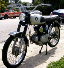 1967 honda cl90 scrambler motorcycle by christian boehr [ 1024 x 768 Pixel ]