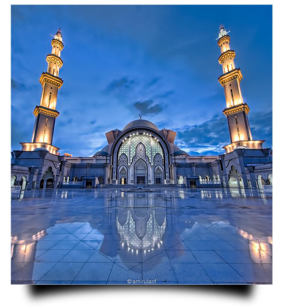 3d Wallpaper Malaysia Masjid Wilayah Persekutuan 2 Went To This Mosque