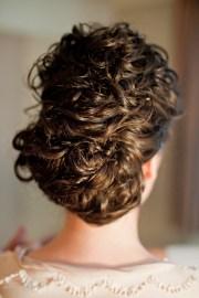 wedding curly hair updo nycurlybride