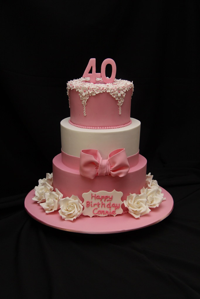Connies 40th Birthday This Was Made For A Lovely Lady