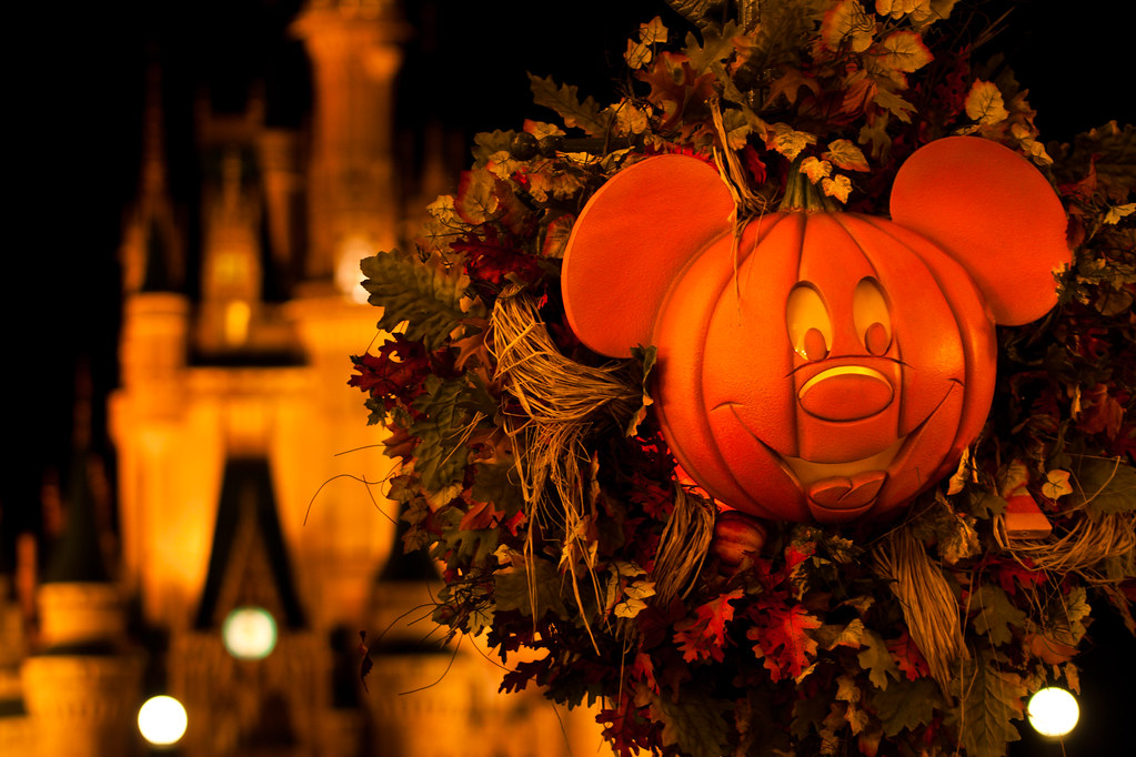 Fall Themed Computer Wallpaper Night Fall Walt Disney World Gt Magic Kingdom Gt Main