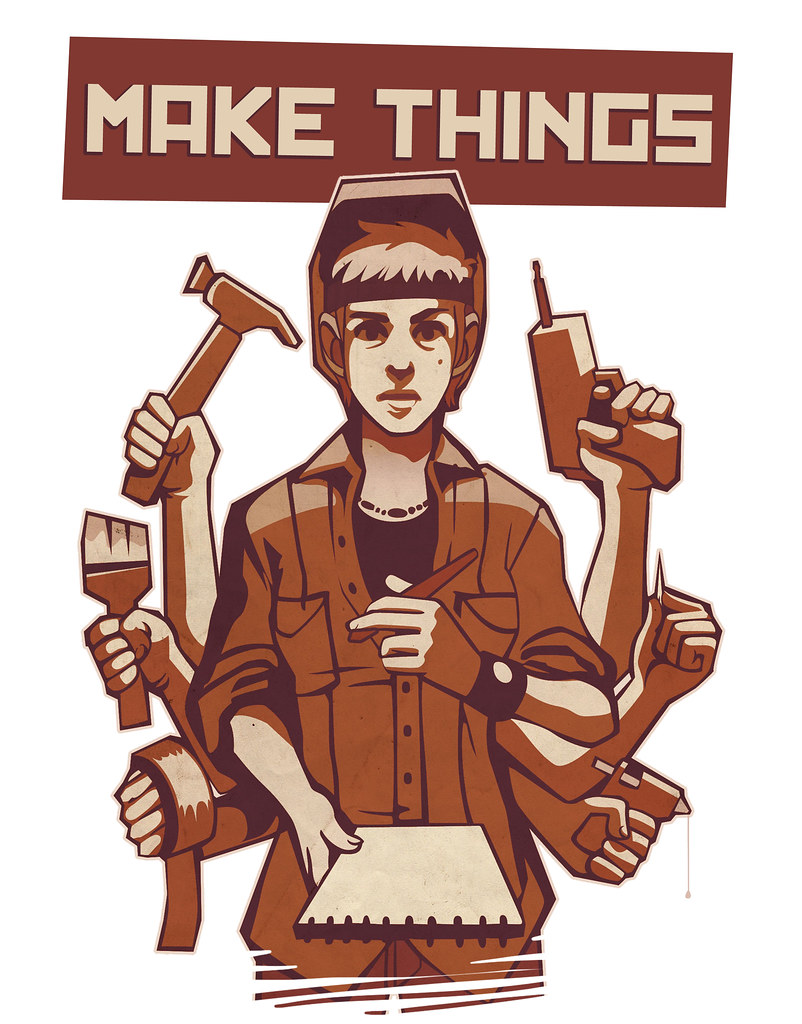 Make Things TShirt  The first sneak peek at the Design Axio  Flickr