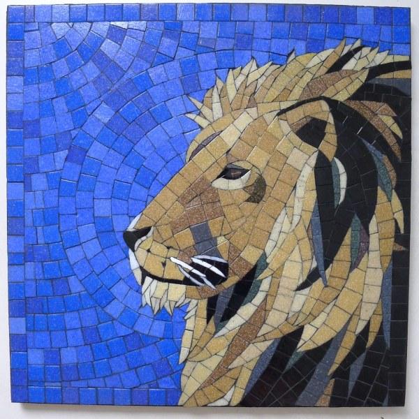 Mosaic Lion Phoebe'
