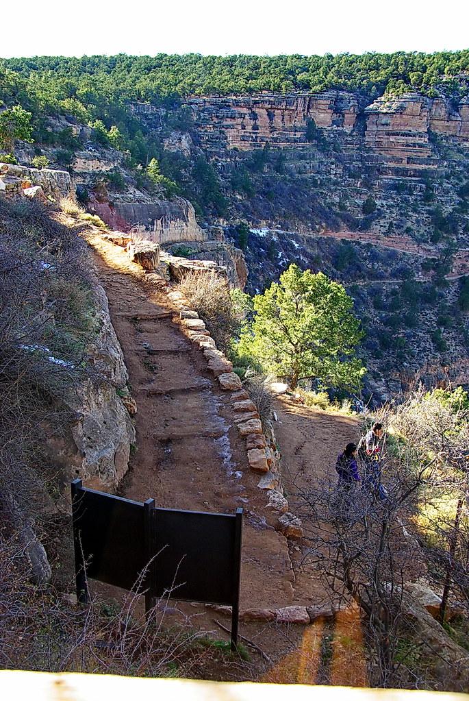 cabinet for kitchen tile backsplash kolb studio view of bright angel trail - grand canyon so ...