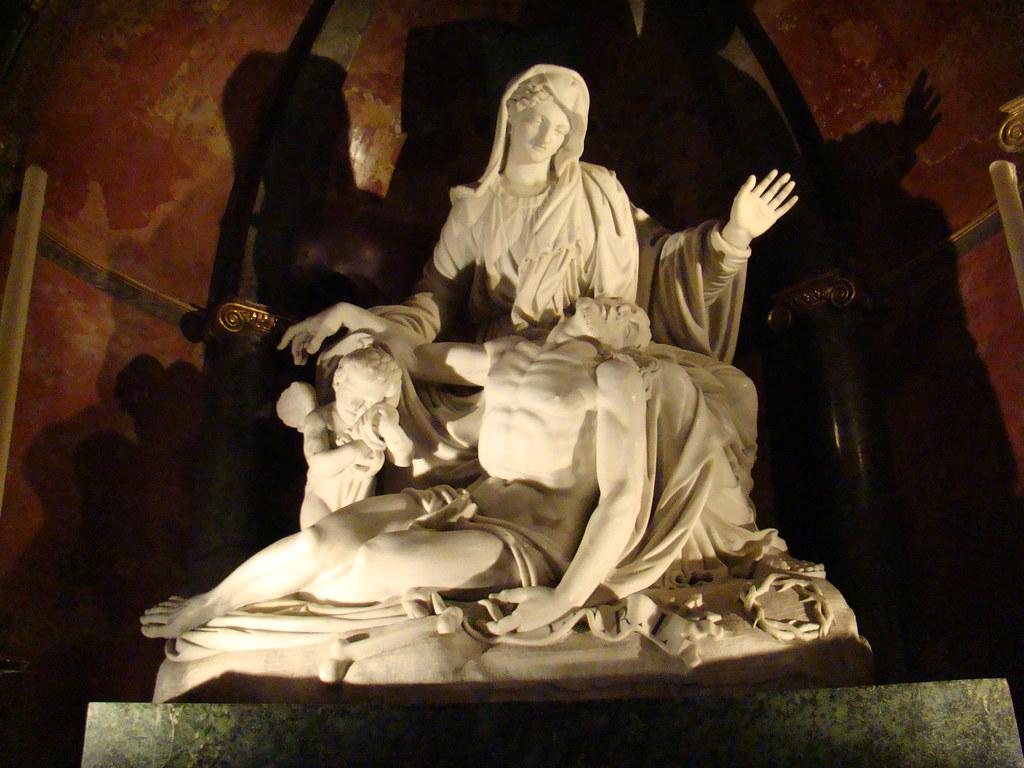 Malaga La Piedad hermanos Pissani (1802) Capilla del Trascoro Santa Iglesia Catedral Basilica de la Encarnacion 08