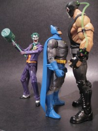 DCUC Batman vs Bane and Joker | Look Out!!!!! | Action Toy ...