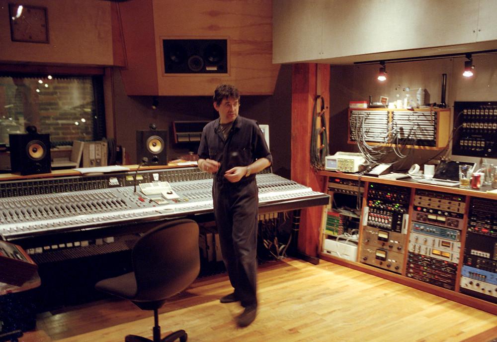 Steve Albini in his studio Electrical Audio  From Relics