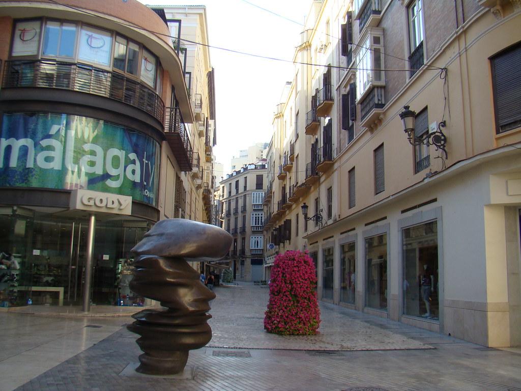 Malaga escultura Puntos de vista Tony Cragg 12