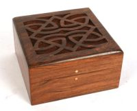 Fair Trade products - wooden box with celtic design   Flickr