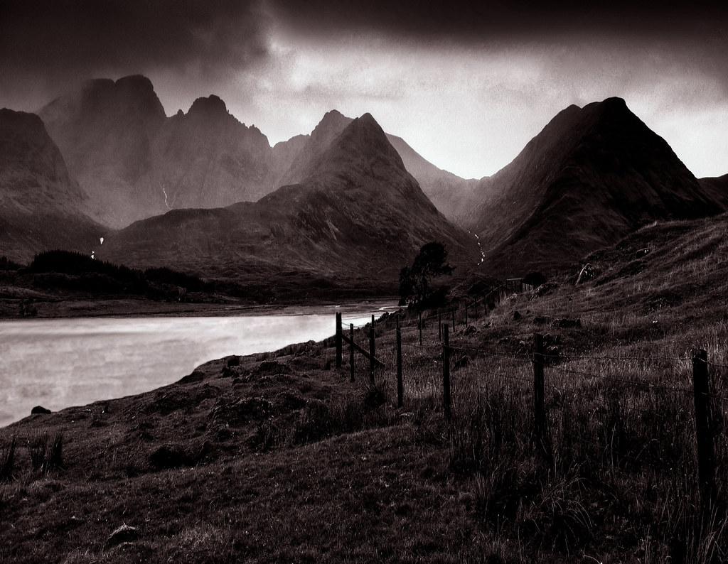 THE BLACK CUILLIN OF SKYE The Black Cuillin Of The Isle