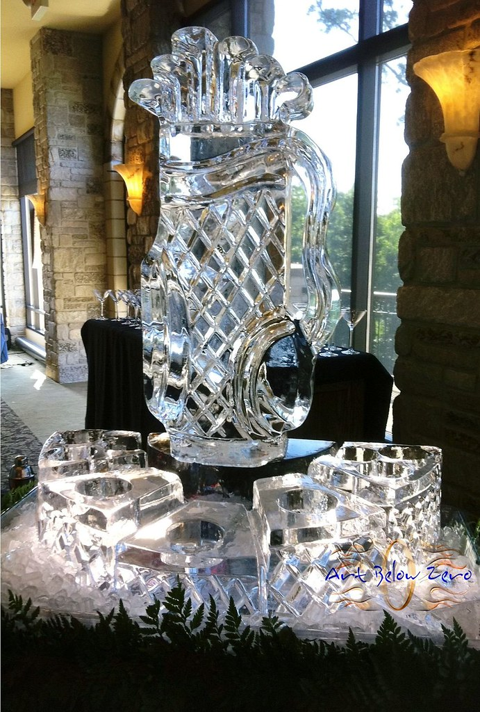 Golf Bag Vodka Chiller Caviar Station Ice Sculpture Flickr