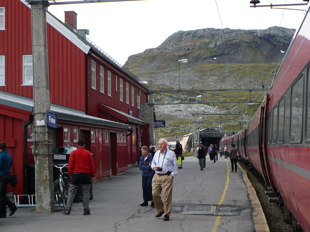 Finse Station Finse Is The Highest Railway Station In