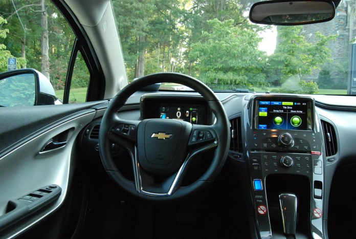 Chevy Volt Interior: Dashboard