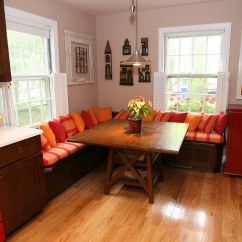 Settee For Kitchen Table How Much To Reface Cabinets Banquette Seating / Booth - Washin ...