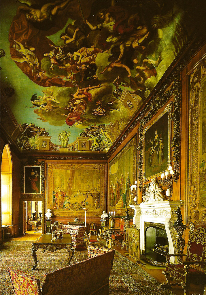 The Queens Presence Chamber in the State Apartments at Wi