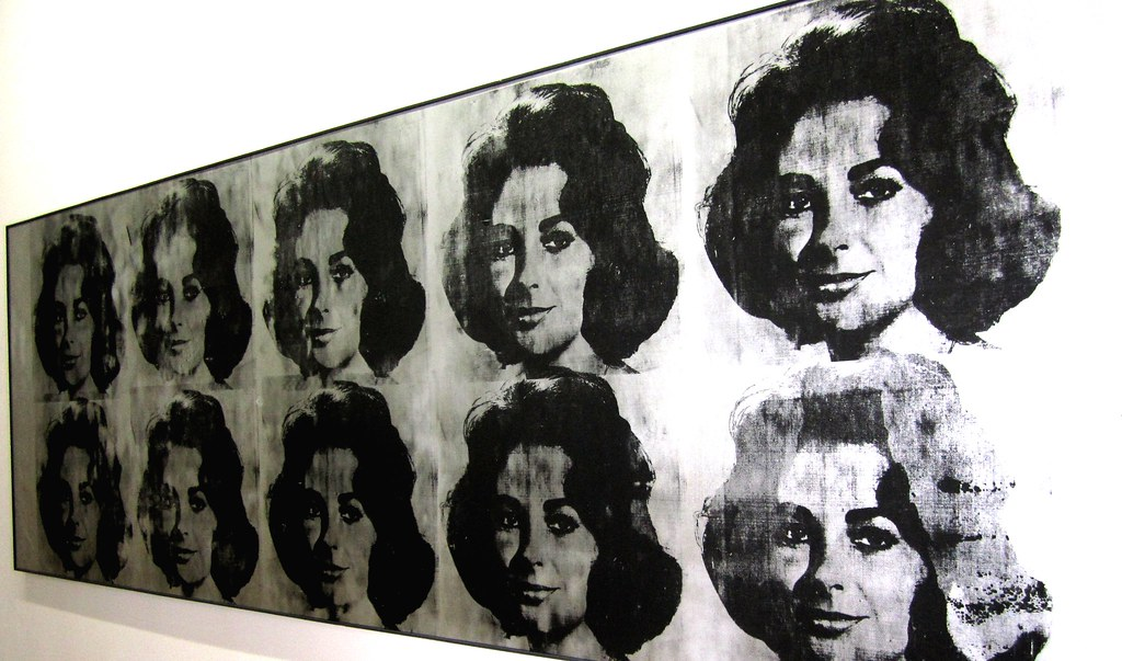 Ten Lizes By Andy Warhol The Pompidou Centre Located In