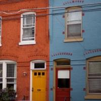 red house blue house yellow door red door | durelle | Flickr